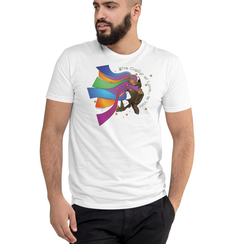 branded t-shirt alex golding colour of love album art exclusive band merchandise available from our official store shop